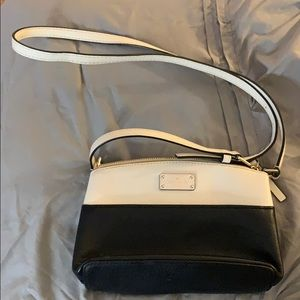 Kate Spade Black/white crossbody Bag